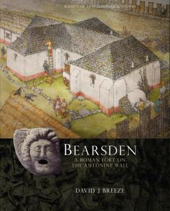 Cover for Bearsden: A Roman Fort on the Antonine Wall